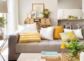 充满阳光的单身公寓装修效果图