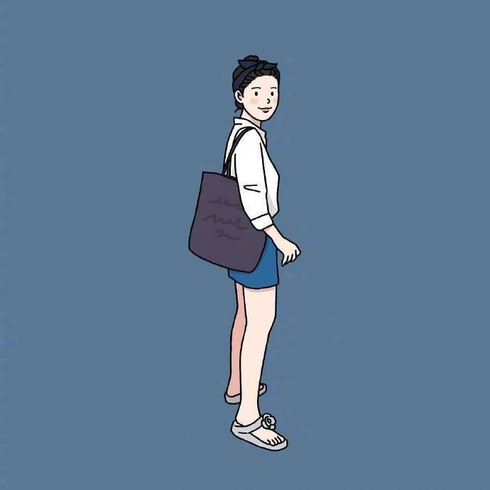 点击大图看下一张:插画师sinana笔下的女生穿搭日记