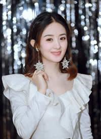 俏皮心爱又不掉崇高典雅的公主赵丽颖
