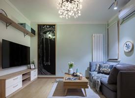 37平米精致的北欧风格单身公寓效果图