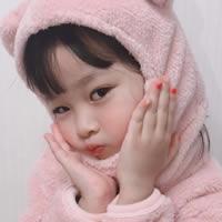超萌超可愛的韓國小女孩表情包頭像