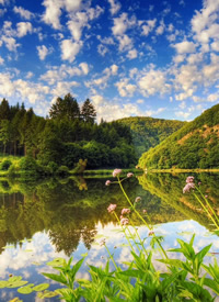 人生的长度,长不过春夏秋冬 风景拍摄图