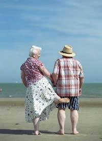 所谓爱,就是陪伴,老人生活摄影
