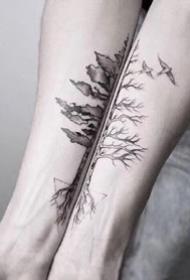 合适恋人不错的6张特性格侣纹身作品图