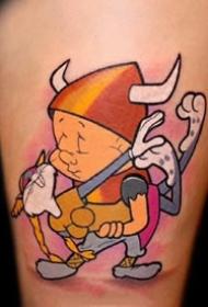 满满的童年回忆可爱卡通小图纹身图案作品