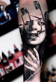 44张精品欧美的国外大师纹身图案作品欣赏
