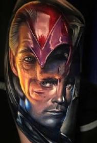 很逼真的写实3d欧美电影角色人物纹身图案