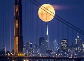 一套航拍城市夜景拍摄壁纸图片欣赏