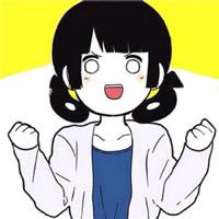 齐刘海圆脸美眉卡通可爱头像