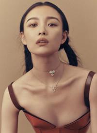 倪妮性感妩媚时尚杂志封面大片