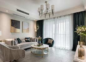 115㎡现代轻奢风三居室,高级灰质感,精致有格调的家