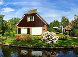 荷兰羊角村-一个最美的小村子