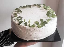 颜色纯净颜值一百分的蛋糕 