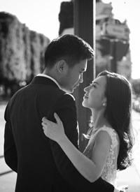 David Lau风格巴黎婚纱拍摄图片欣赏