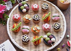 一组超可爱有着艺术感的小饭团