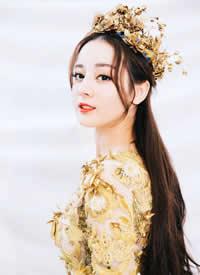 迪丽热巴金鹰女神造型壁纸媚而不俗 美艳灵动
