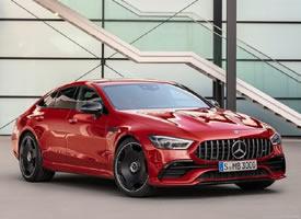 红色奔驰AMG GT43 4MATIC亮相,百米