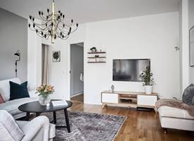 一组适合北欧风格&现代简约风格装修的电视背景墙