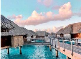 超唯美的浪漫大溪地Borabora岛图片