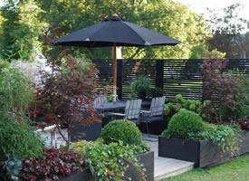 沒有大空間,也能打造漂亮的花園 陽臺裝修效果圖