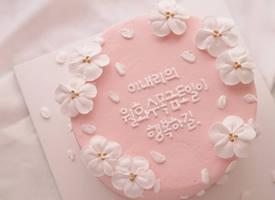 超级唯美的粉色少女心系列蛋糕图片