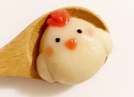 萌萌哒可爱卡通动物的小汤圆