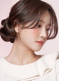 韩系清新女生气质发型图片参考