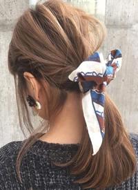 9款女生休闲优美的发型图片参考