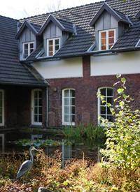 FloristPark的深秋美丽的风景图片拍摄