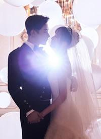 唐嫣和罗晋的浪漫婚纱图片欣赏