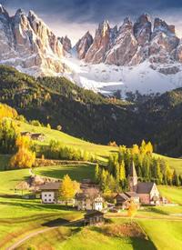 山谷的秋天真的很美丽图片欣赏