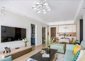 100平两居室北欧、现代简约混搭风格装修效果图欣赏