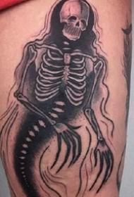 9张很暗黑系的一组黑色纹身图案欣赏