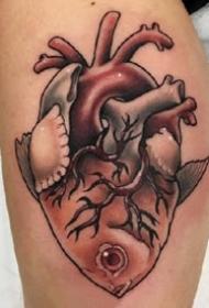 暗彩色有个性的一组纹身图案作品欣赏