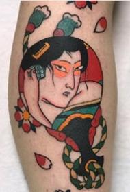 老传统风格17张日式小图纹身图案