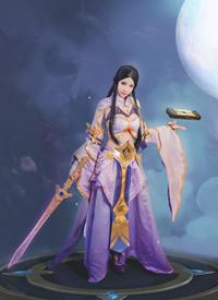 王者荣耀露娜紫霞仙子cosplay绝美写真高清图片