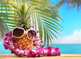 不一样的酷炫风格 创意形象的菠萝图片