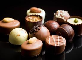 浓郁香甜的巧克力,吃了一颗让人永远的记住它的味道
