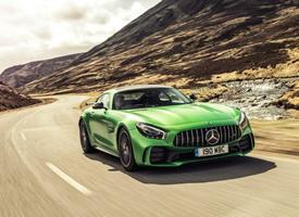 宝马AMG GTR新款绿色汽车图片壁纸