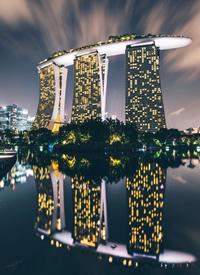 一组超好看的城市夜景摄影图片