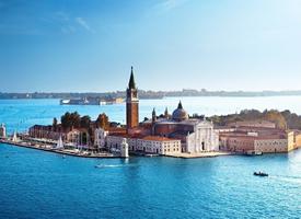 水上城市威尼斯风景图片桌面壁纸
