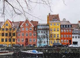 哥本哈根的冬天美的像一幅画