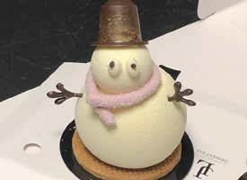 一组萌萌哒可爱的雪人小甜点图片欣赏