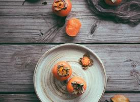 甜甜的柿子图片欣赏