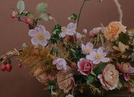 一组意境感超级好看的花束拍摄图片
