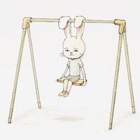 一组兔子先生的日常卡通头像欣赏