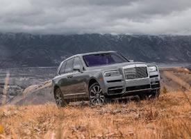 Rolls Royce Cullinan 让时间停止在这一刻好好欣赏