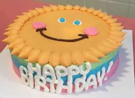 一组可爱童趣生日蛋糕图片欣赏