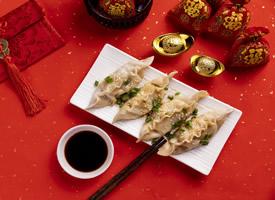 一组水饺高清早餐美食图片欣赏