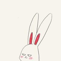 一组超级可爱的卡通兔子表情包头像欣赏
